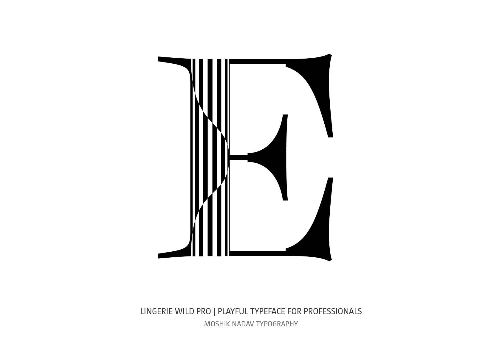 Super sexy font designed for fashion magazines