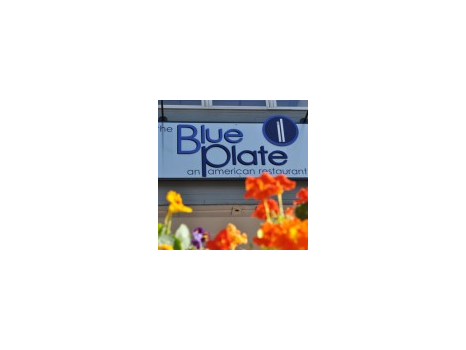 2 Gift Certificates for The Blue Plate