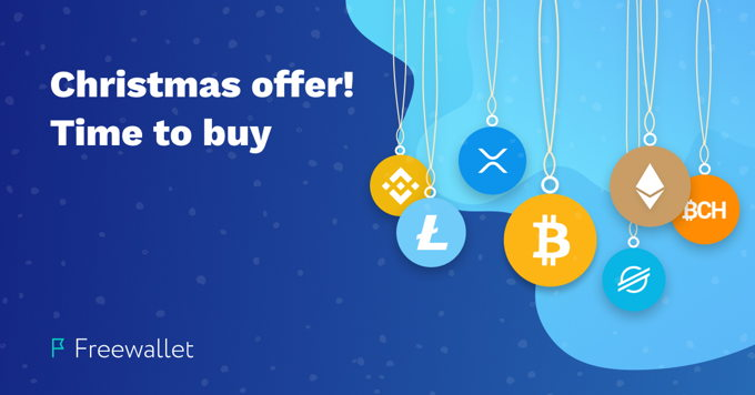 Freewallet and Simplex are reducing fees for Winter Holidays