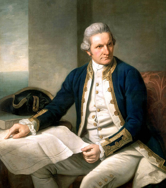 Capain James Cook
