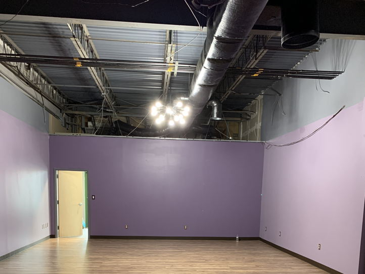 Yoga studio open to options