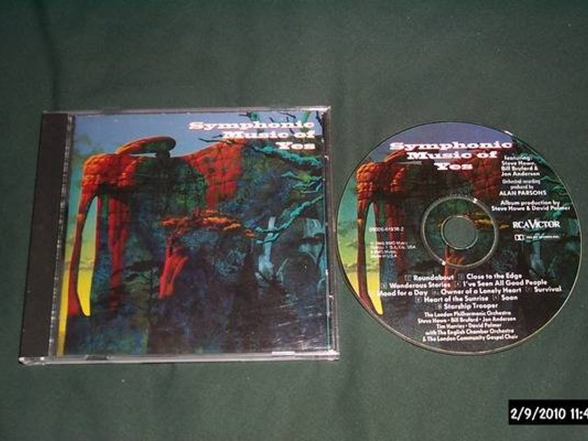Yes - Symphonic Music Of surround sound cd nm