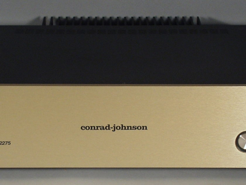 Conrad Johnson MF2275 Power Amplifier, New with Full Warranty