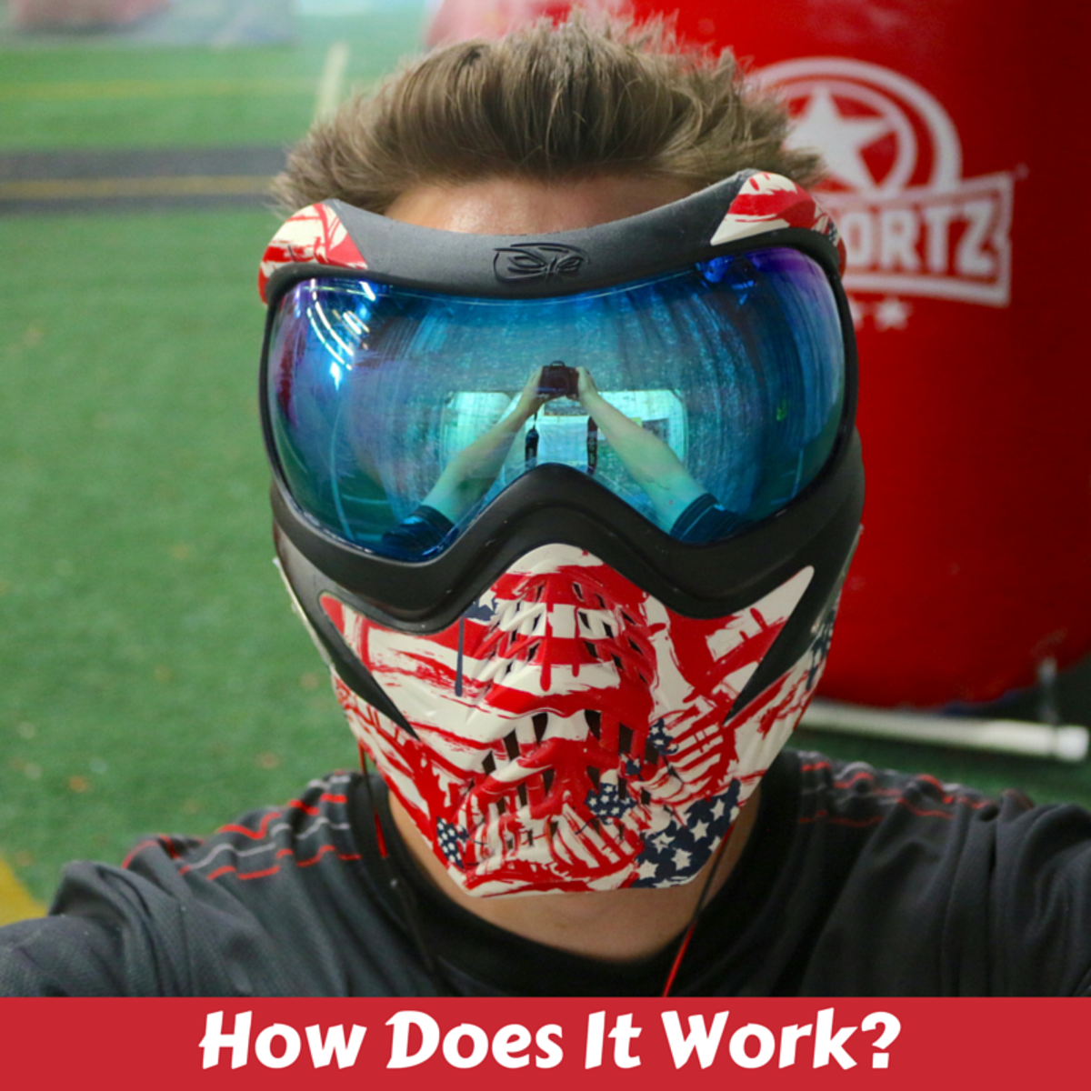 Paintball in San Diego. How Does it Work?