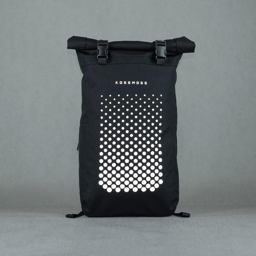 Черный роллтоп рюкзак / Black Rolltop Backpack