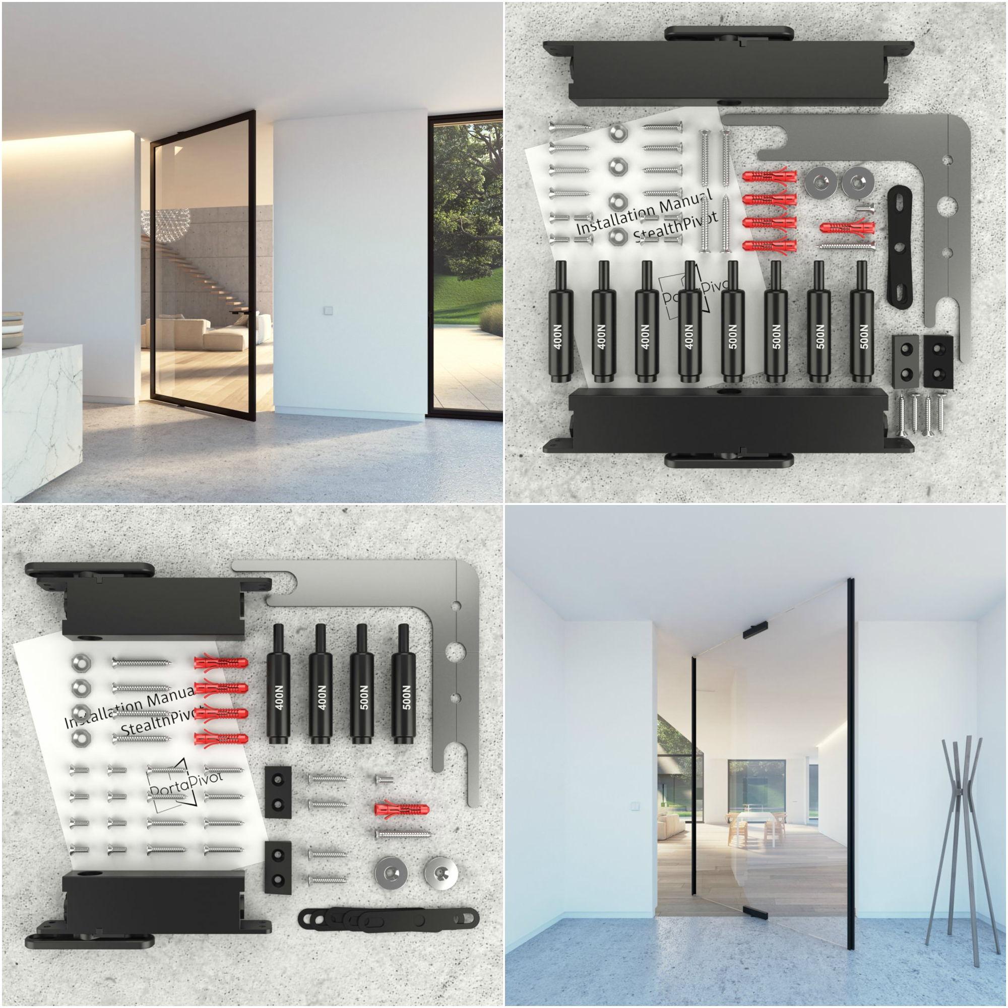 Portapivot custom-made pivot door products