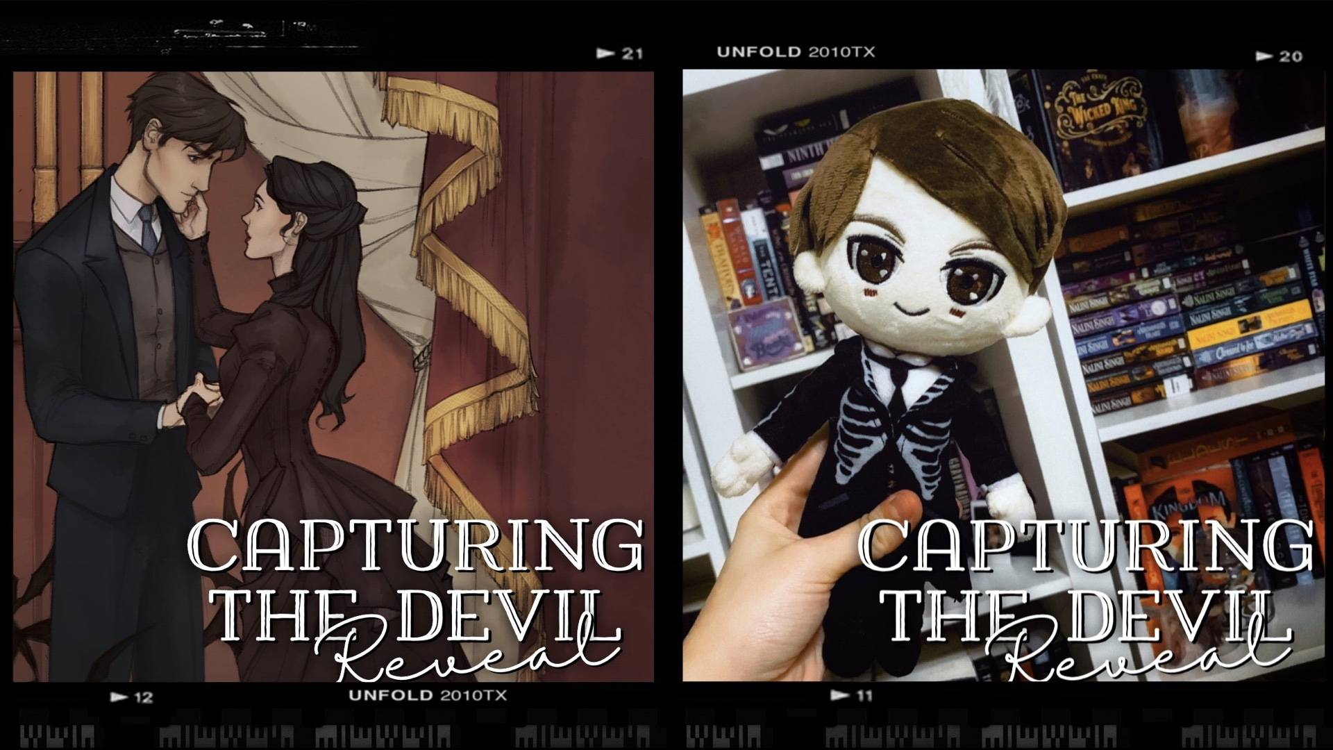 Capturing the Devil Dust Jacket Art Reveal and Thomas Plushie Reveal