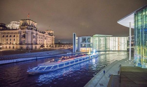 Берлин: 2-часовой зимний речной круиз