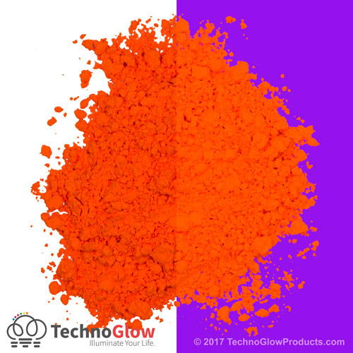 Orange UV Fluorescent Powder