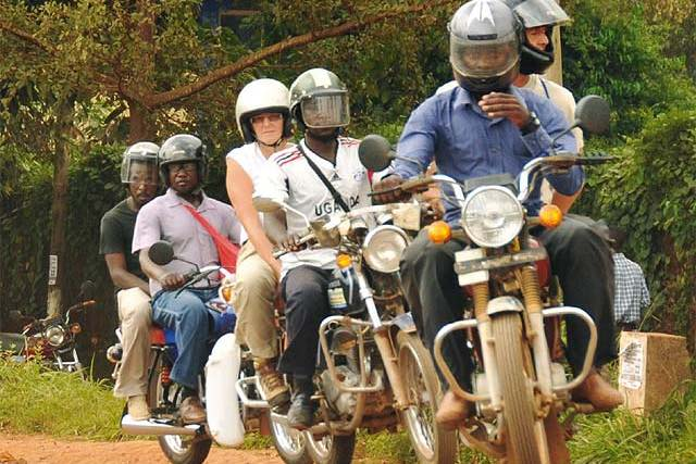 Downtown Kampala Tour with a Boda Boda