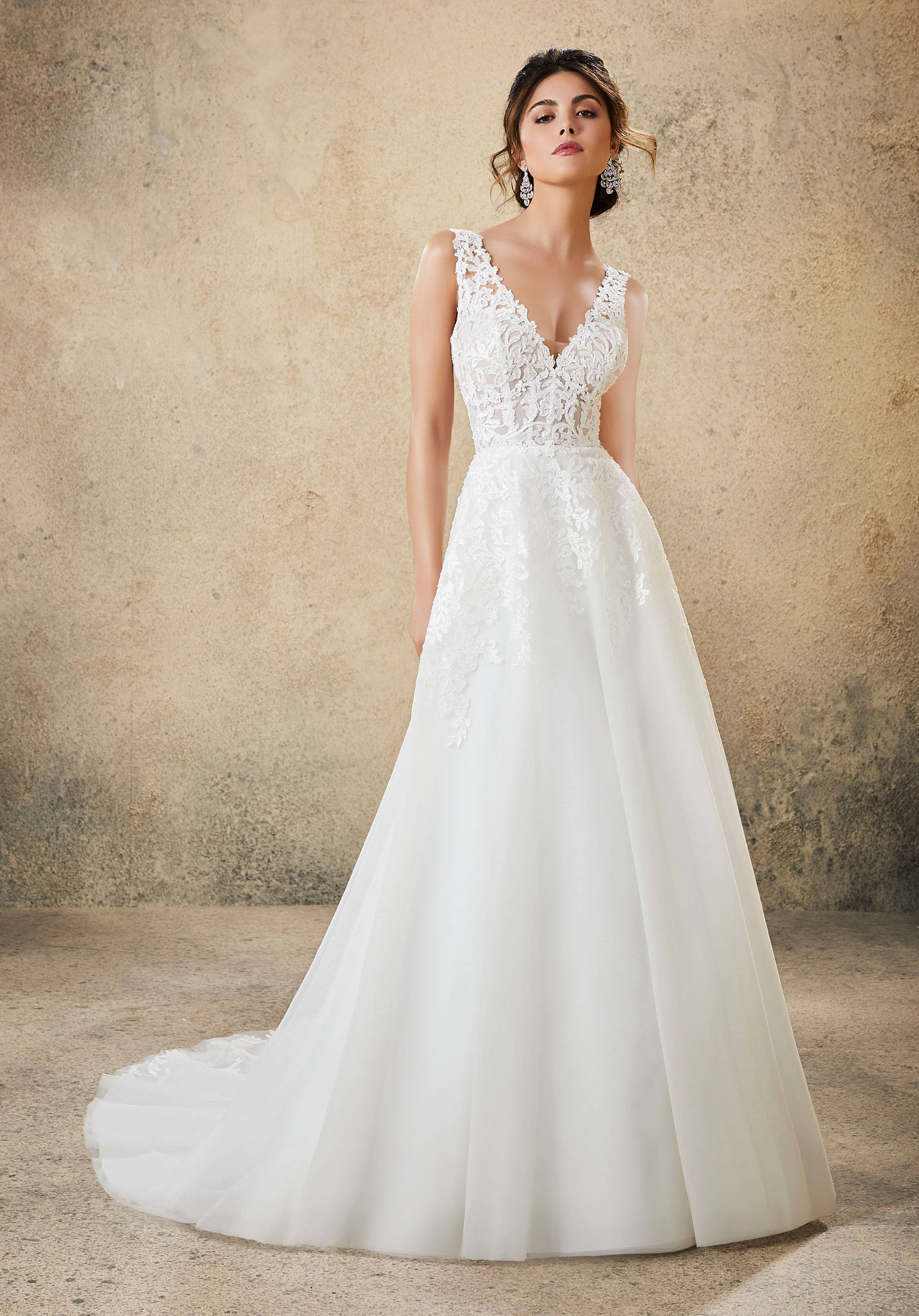 MORI LEE  WEDDING DRESS 5774