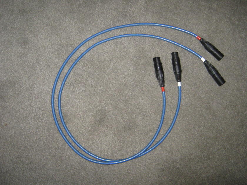 JPS Labs Ultra conductor 2 interconnect cable XLR terminated cables, one meter length