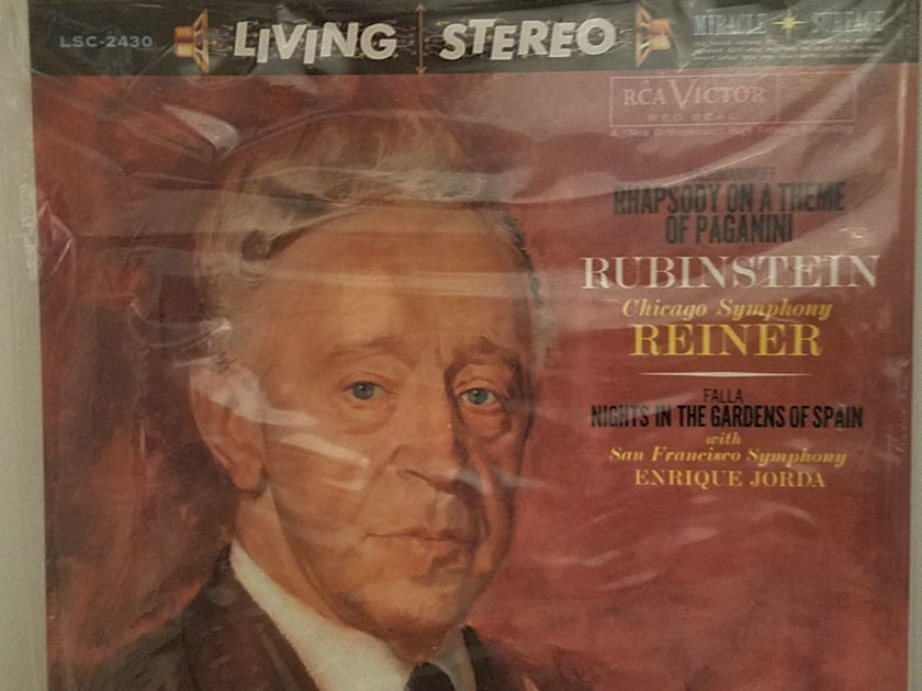 RCA LSC 2430 Rubinstein Reiner CSO  - Rhapsody on a Theme of Paganini c