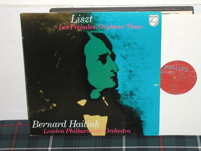 Haitink/LPO - Liszt Les Preludes Philips import pressing 839 ly