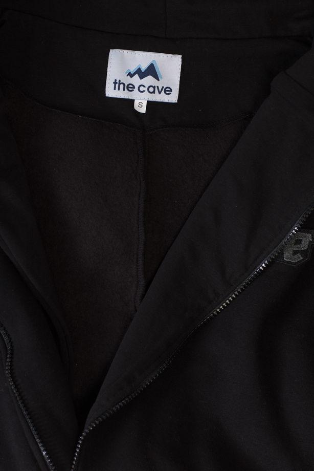 """Комбинезон """"The Cave"""" Урбан черный с начесом"""