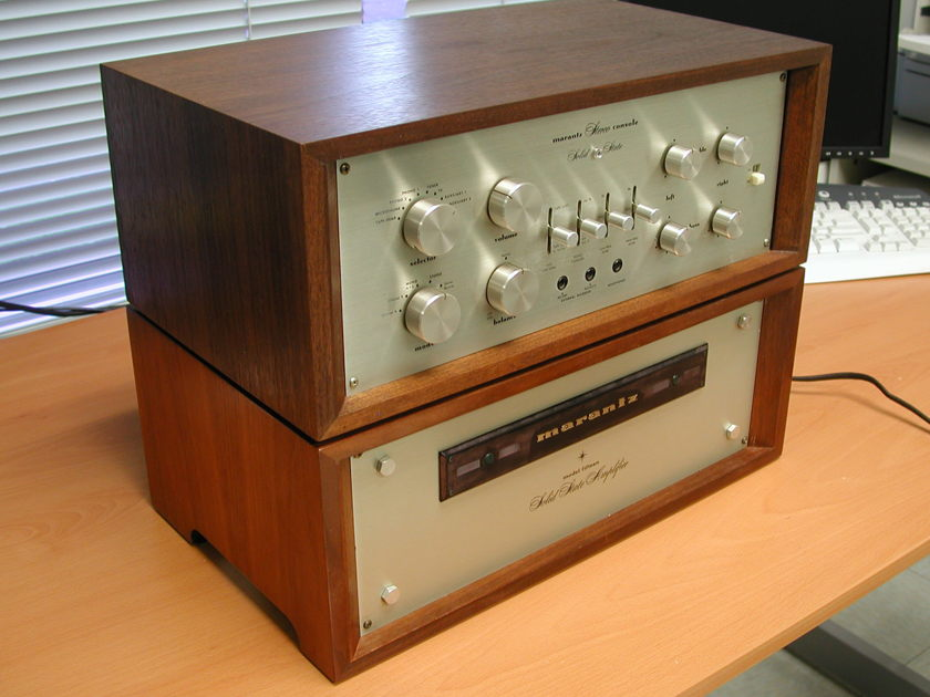 Marantz 7T and 15 Preamp and Power Amp Combo