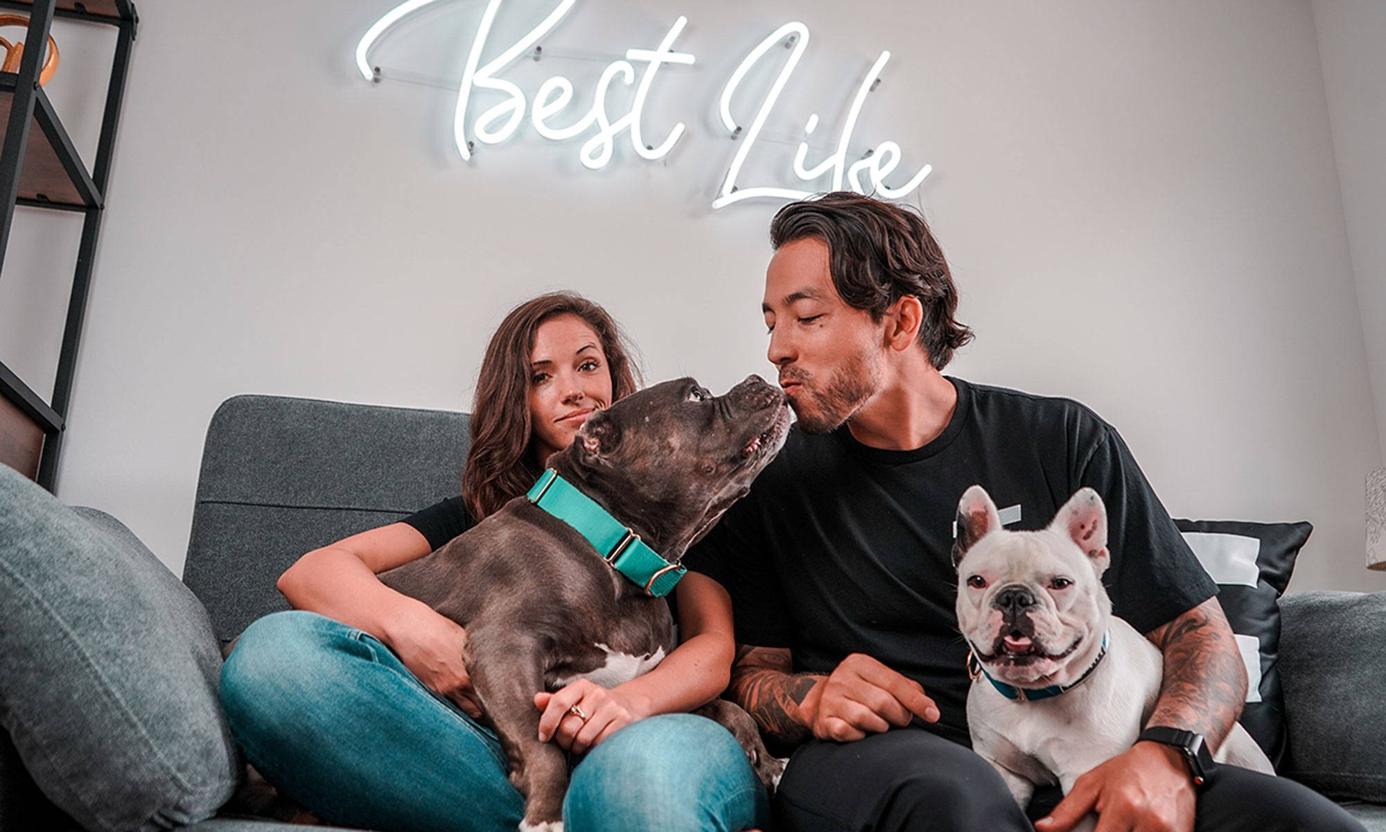 best life leashes rescue dog family