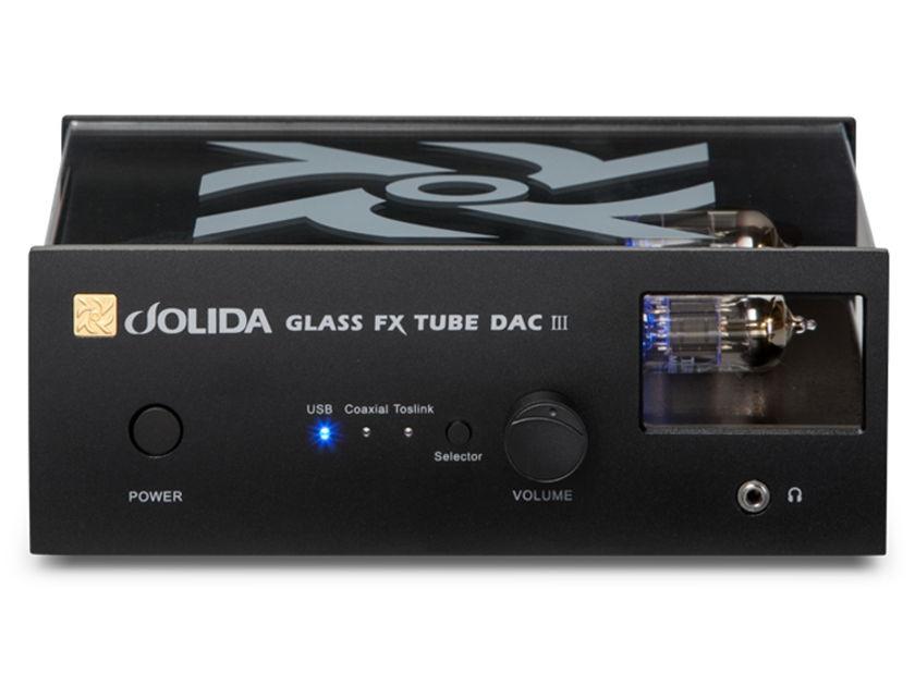 Jolida  FX Tube DAC III D/A converter
