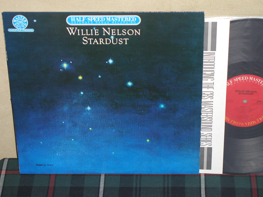 Willie Nelson - Stardust  Columbia Half Speed Mastered