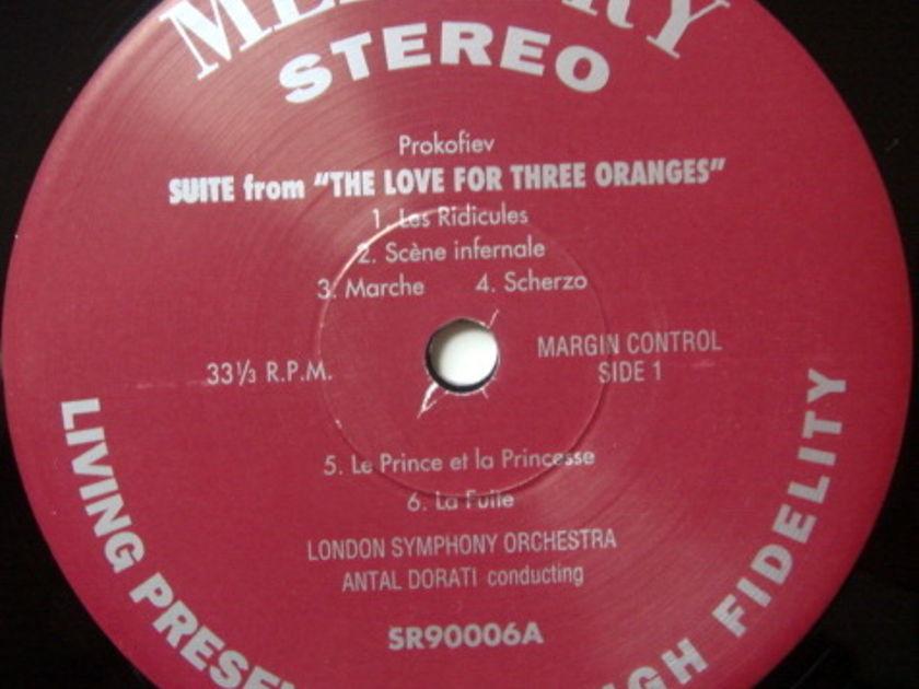 ★Audiophile 180g★ Mercury-Classic Records / DORATI, - Prokofiev Love for Three Oranges, TAS SUPER DISC, MINT(OOP)!
