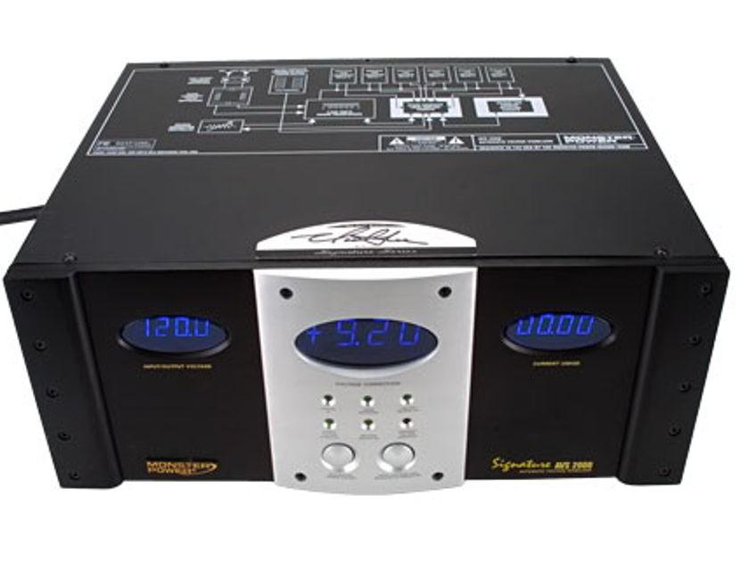 Monster AVS 2000 signature series Voltage Stabilizer