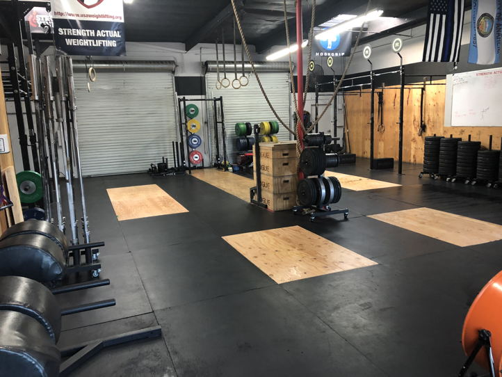 Gym Space Available
