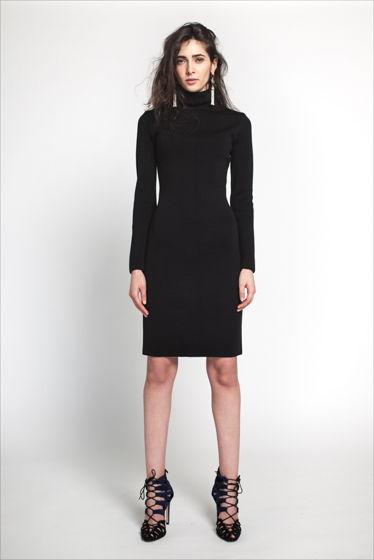 Идеальное платье водолазка