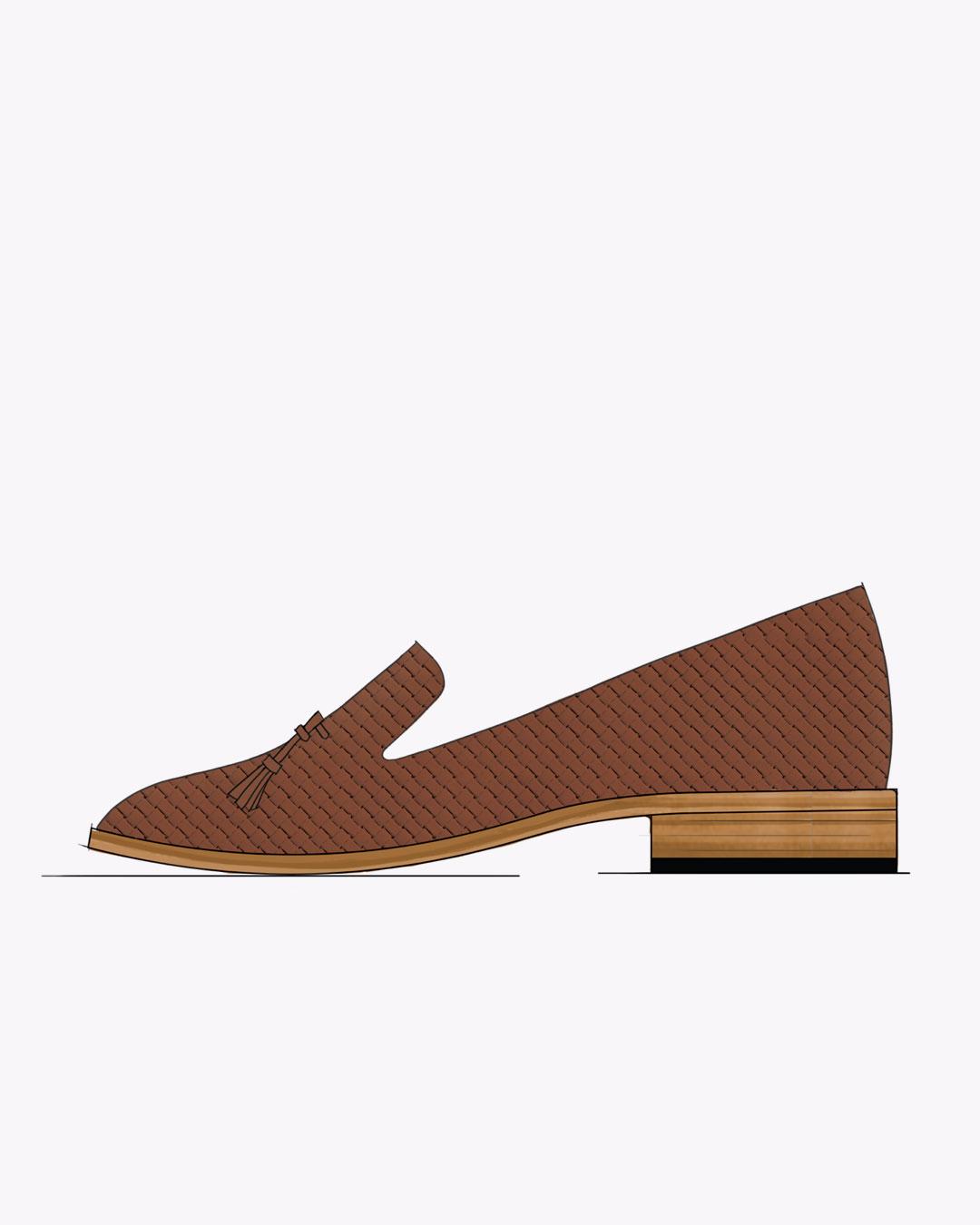 Nisolo Women's Woven Loafer