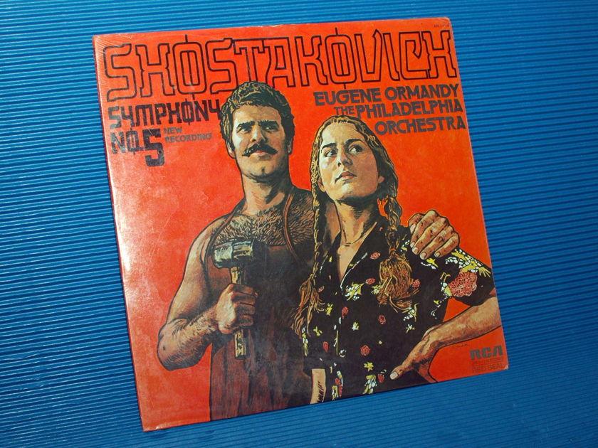 "SHOSTAKOVICH/Ormandy -  - ""Symphony No 5"" - RCA 1975 Sealed"