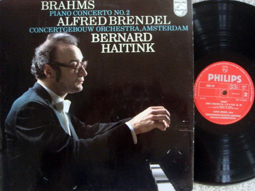 Philips UK / BRENDEL-HAITINK, - Brahms Piano Concerto No.2, NM, UK Press!