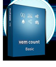 Vemcount footfall data analytics Basic software