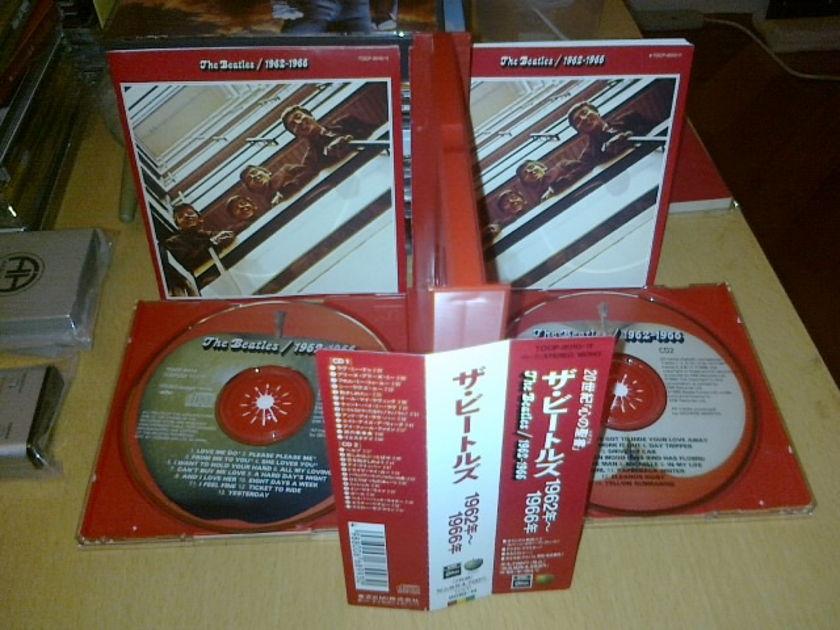 Beatles - 1962-1966 - (Red 2CDs) Japan 1st Toshiba  edition, w book, OBI)