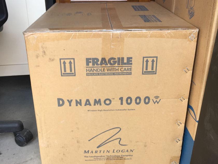 Martin Logan Dynamo 1000 with wireliess kit