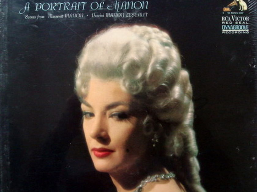 ★Sealed★ RCA Red Seal / MOFFO, - A Portrait of Manon, 2LP Box Set!