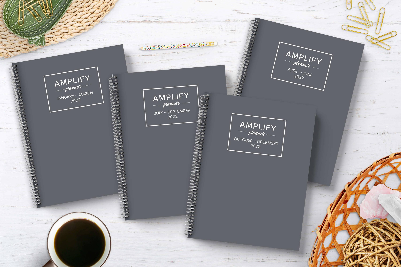 2022 amplify planner bundle