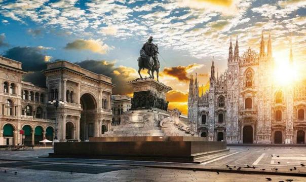 в МИЛАН из Генуи на один день!