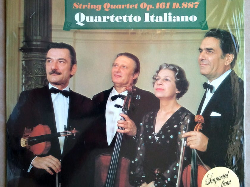 Philips/Quartetto Italiano/Schubert - String Quartets Op.116 D.887 / NM