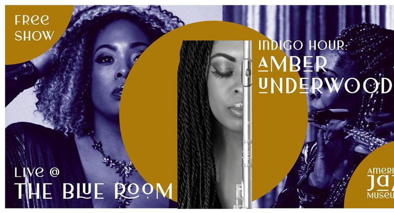 Indigo Hour: Amber Underwood at the Blue Room