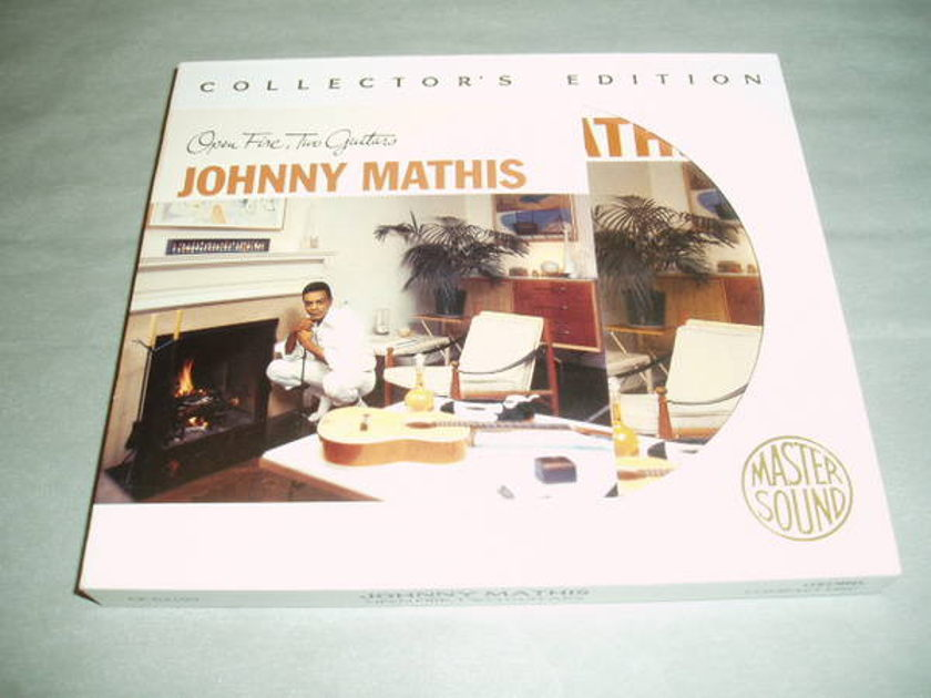 Johnny Mathis - Open Fire/24k Gold disc sony mastersound/out of print!