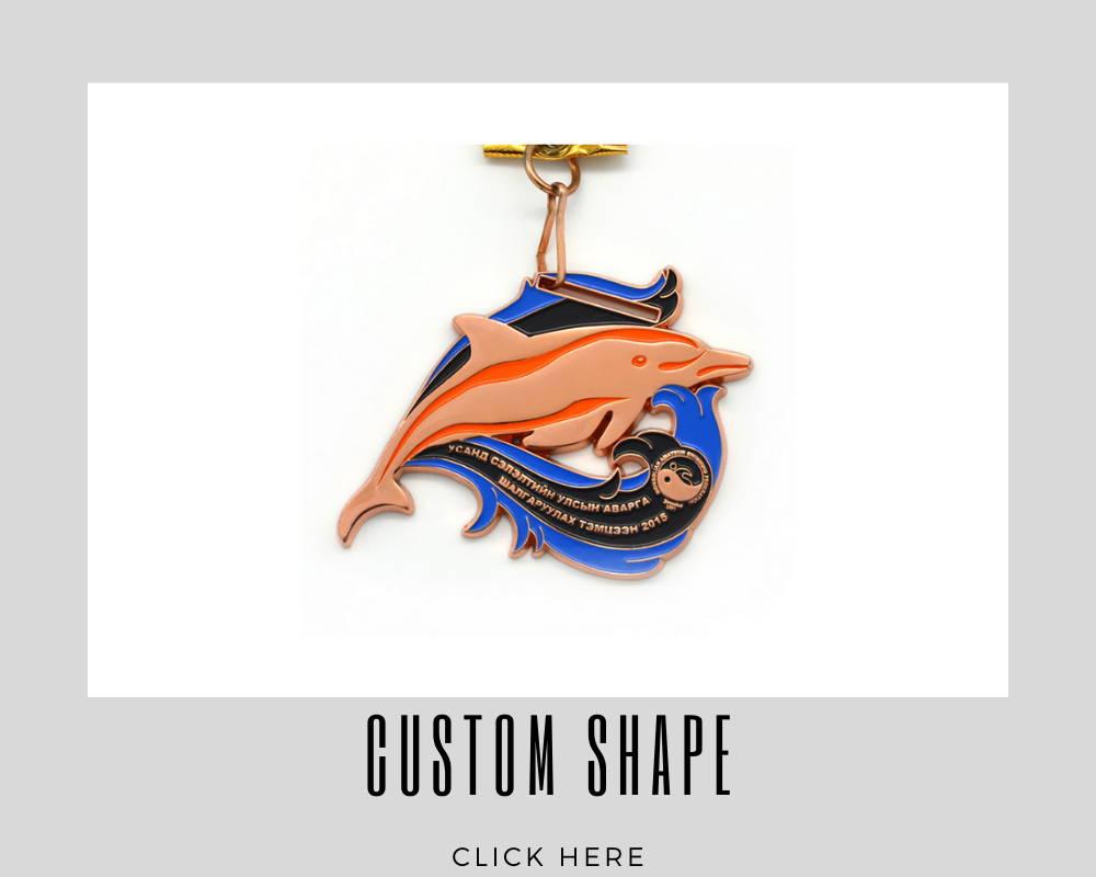 Custom Shape Corporate Medallions