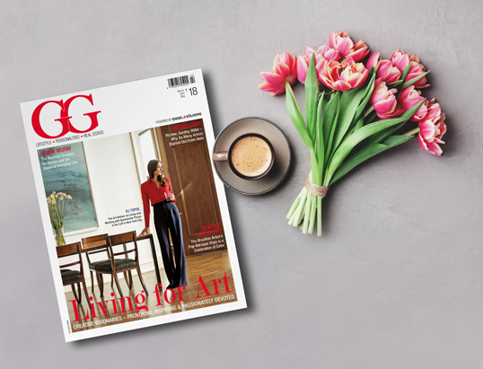 Hamburg - Aesthetic, provocative and inspiring, a colourful issue filled with art. The new GG Magazine is here!