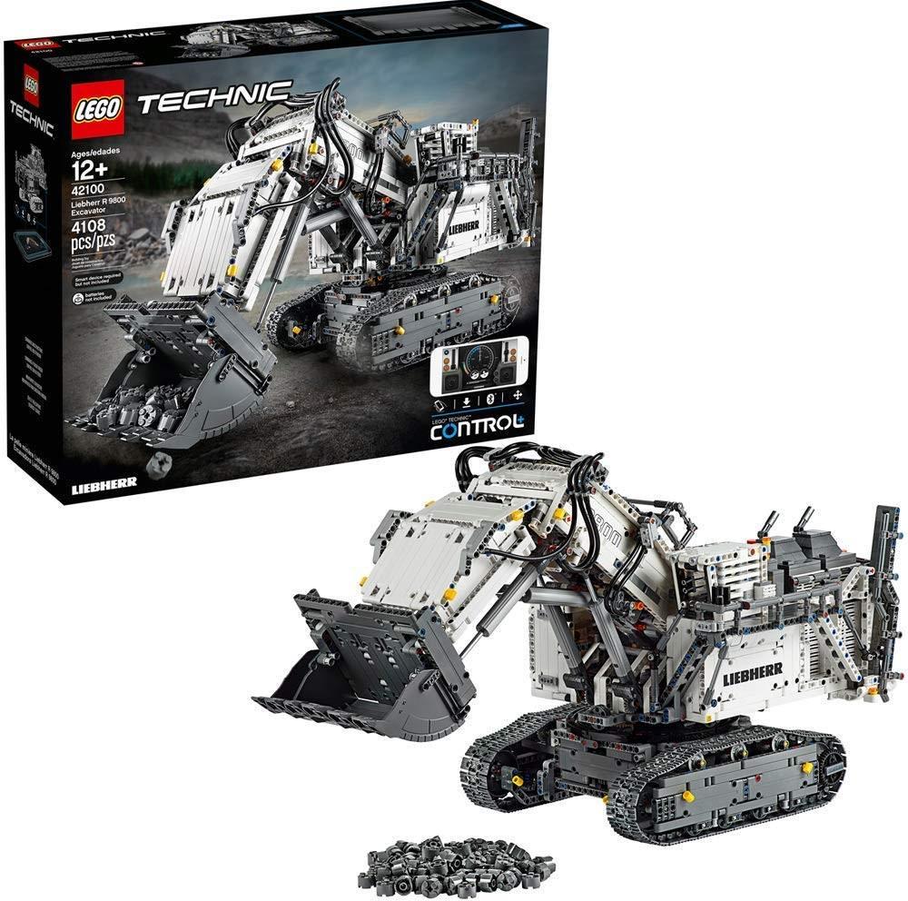 LEGO EXCAVATOR LIEBHERR R 9800