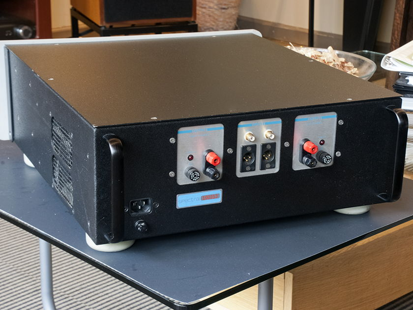 """Spectral DMA-200 """"Class A"""" Power Amplifier; 200w x 2. Balanced and Single End Inputs."""