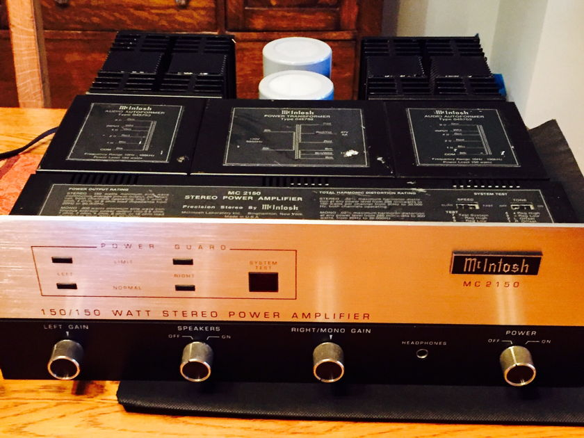 McIntosh MC 2150 Solid State Amplifier