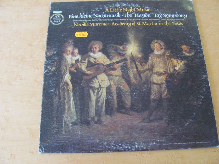 Haydn: The Toy Symphony,   - A Little Night Music, Angel Records, Neville Marriner, St Martin-in-the-Fields, NM