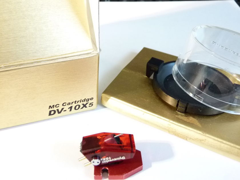 Dynavector DV-10X5 high output moving coils cartridge HOMC new
