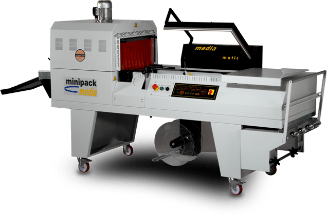 semi automatic l sealer and tunnel minipack torre media