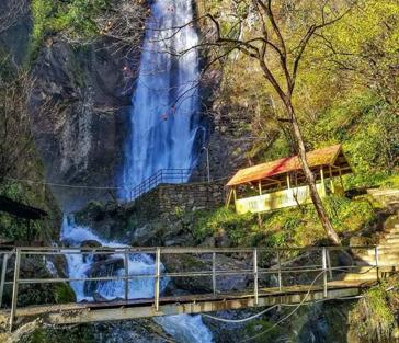 Водопад Махунцети, мост Царицы Тамары и Аджарский дом вина