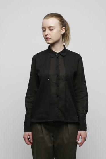 Чёрная двойная рубашка
