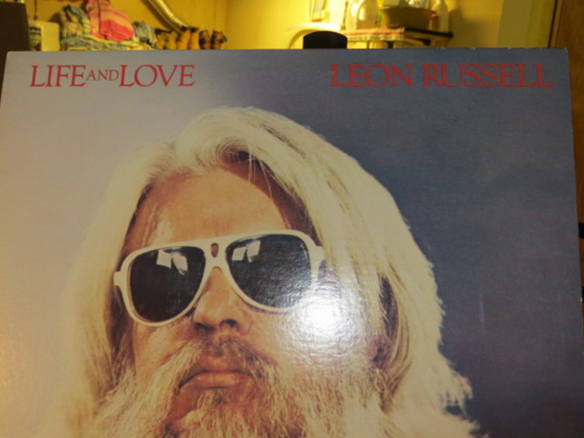 LEON RUSSELL - LIFE AND LOVE